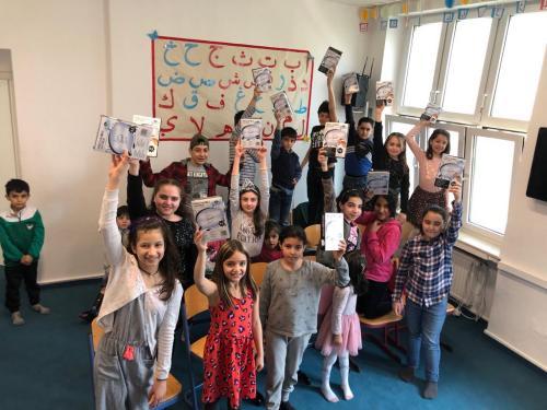 Syrische Kinder Lernen 07.04.2019