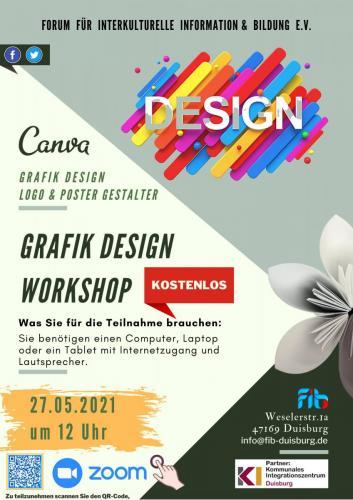 Grafik Design Workshop 27.05.2021