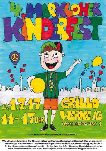 4. Marxloher Kinderfest 01.07.2017