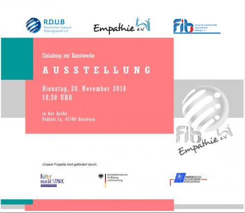 Kunstwerke asustelllung 20.11.2018