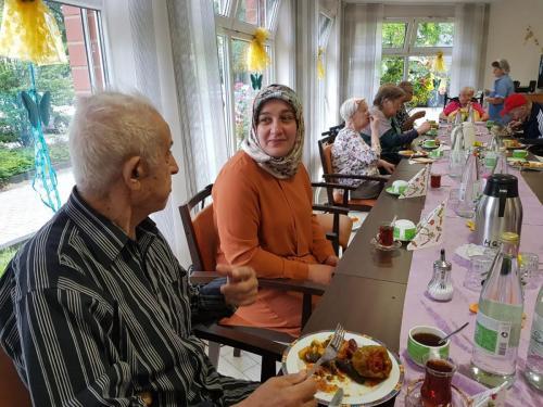 Bayram-Frühstücks im HEWAG 06.06.2019