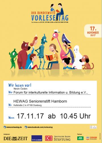 Vorlesetag Seniorenheim 17.11.2017